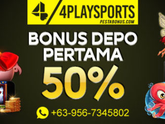 Bonus 50% Deposit Pertama Slot