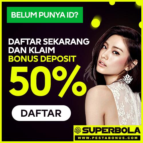Bonus Slot Online 50% di Depan