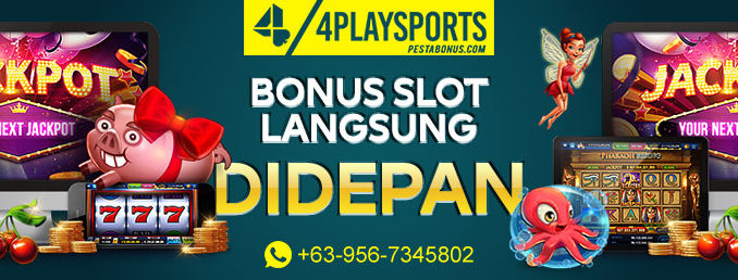 Slot Bonus 50% di Depan