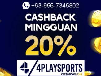 Slot Bonus Cashback 20%