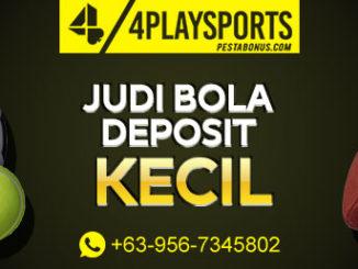 Taruhan Bola Online Deposit Kecil 4playsports